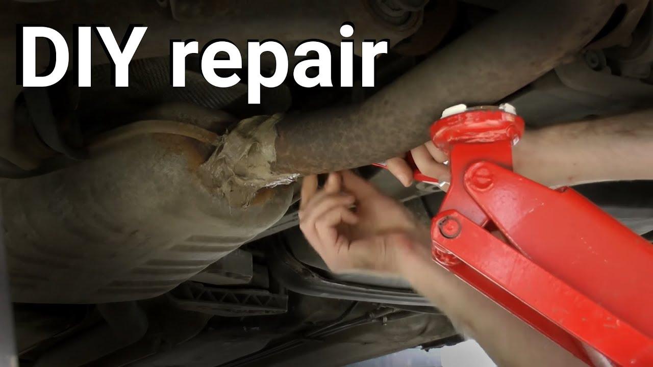 DIY Exhaust repair