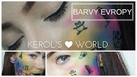 Make-up #barvyevropy :)