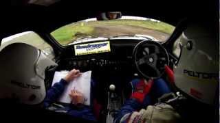 metro 6r4 in car action roadrunner motorsport winner lynn stages oct 2012 sculthorpe