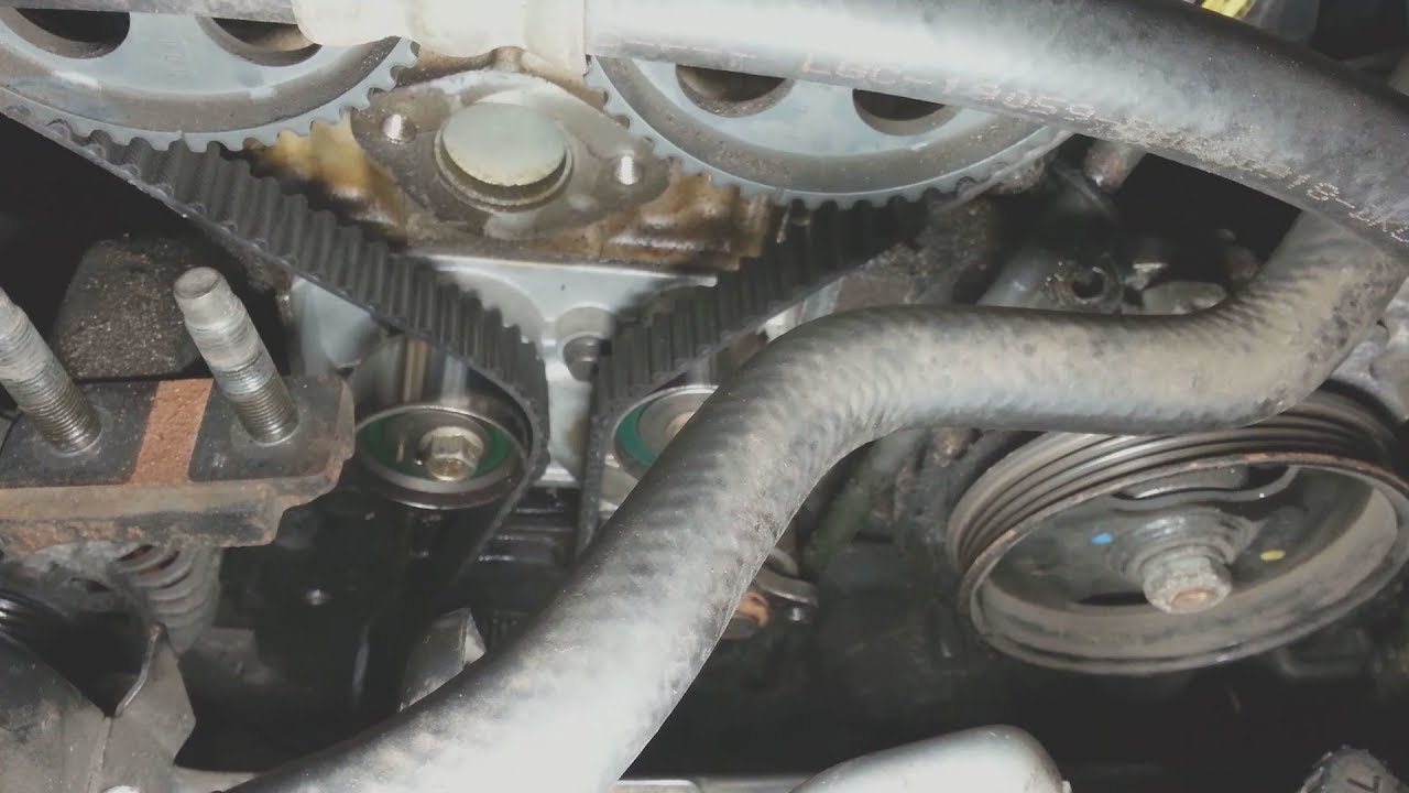 small resolution of 2000 2004 kia spectra timing belt water pump replacement