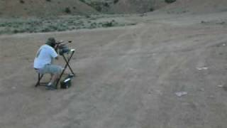 Guy hit in head with .50 caliber ricochet