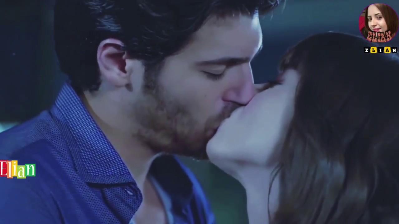 مقطع من مسلسل تركي رومنسي جدا بين حبيبين يجننو مع اغنية حزينة