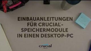 Wie Sie Crucial®RAM in einem Desktop-PC installieren: 10 einfache Schritte
