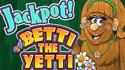 ★ JACKPOT HANDPAY ★ The BEST of BETTI the YETTI ★ WHY WE LOVE HER! ★ EZ LIFE SLOT JACKPOTS