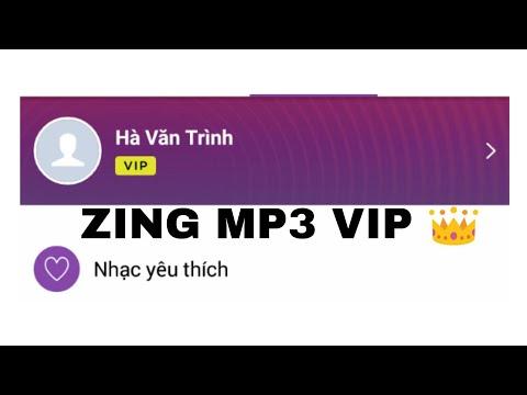 Hướng Dẫn đăng Ký Tài Khoản Zing Mp3 VIP Hàng Tháng Miễn Phí