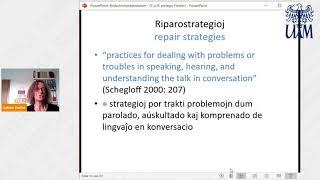 Interkultura komunikado per Esperanto: kelkaj ĉefaj trajtoj  (Sabine Fiedler)