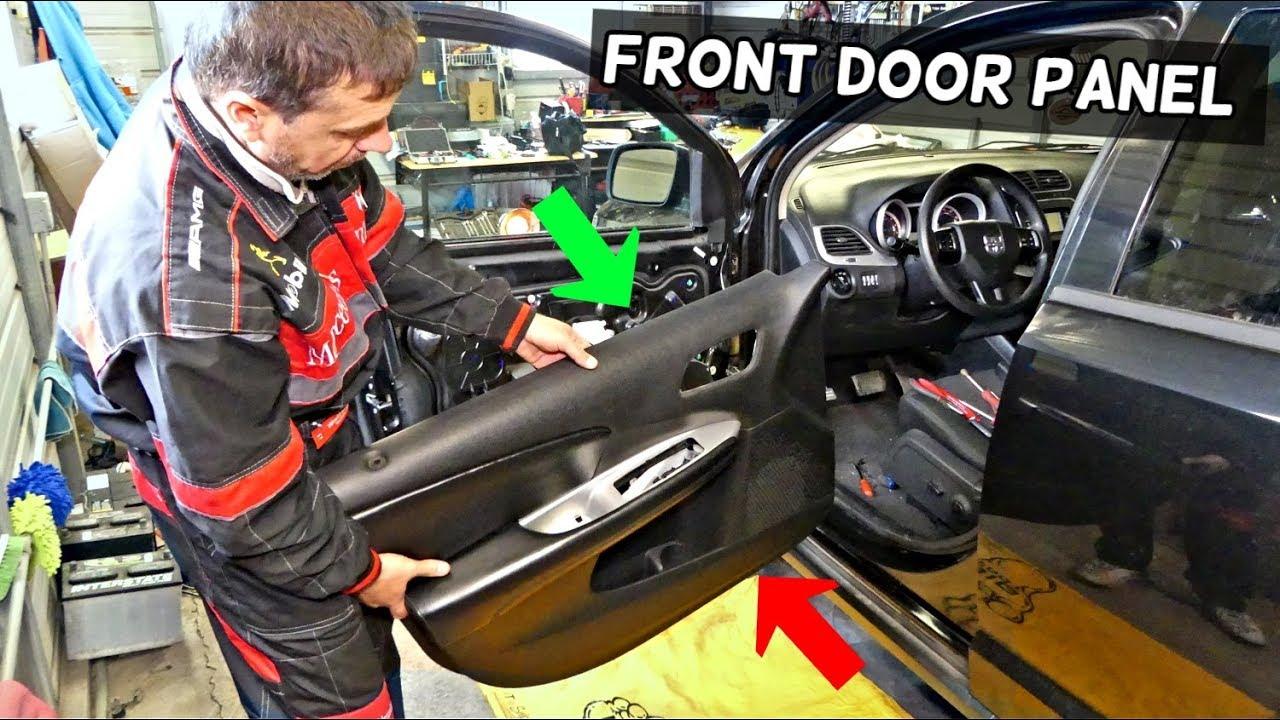 Dodge Journey Front Door Panel Removal Fiat Freemont