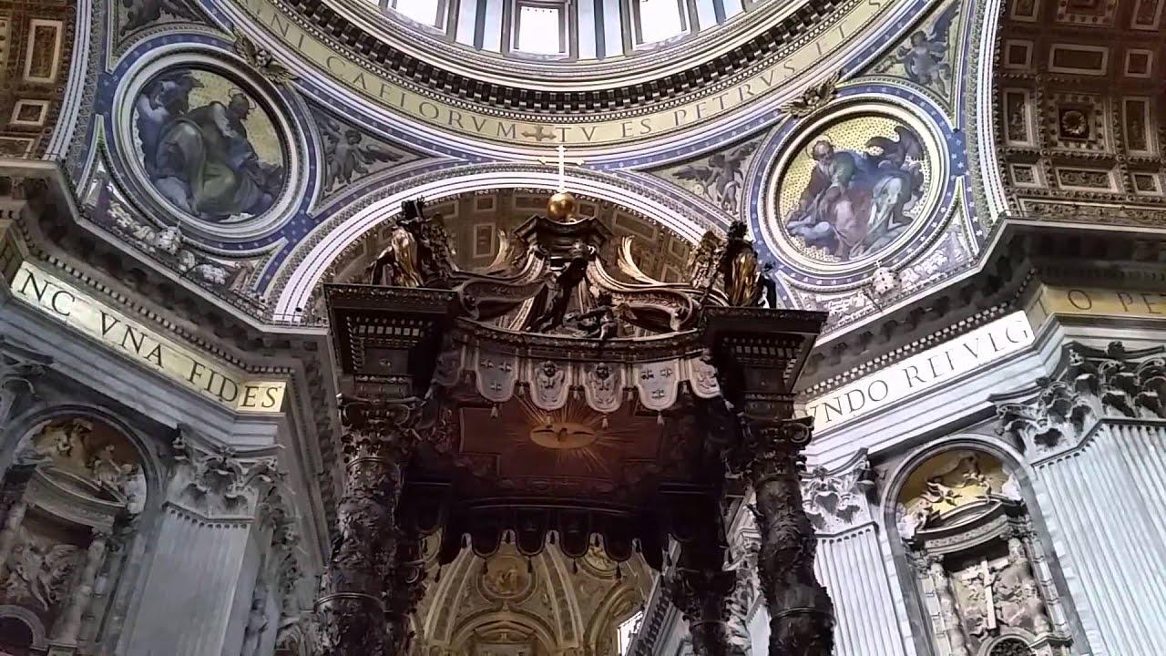 Basílica De San Pedro Por Dentro Youtube