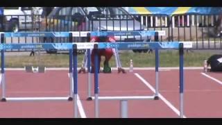 dayron robles panamerican games guadalajara 2011