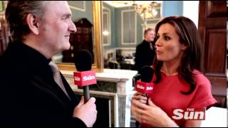 Natalie Pinkham Sky Sports F1 babe with Jim Munro
