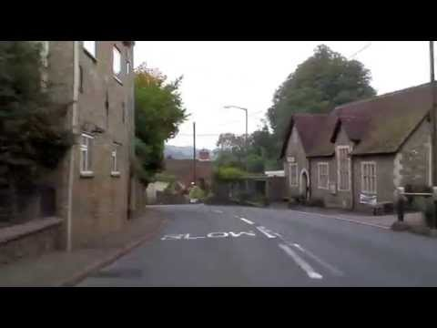 More driving in Devonshire, England