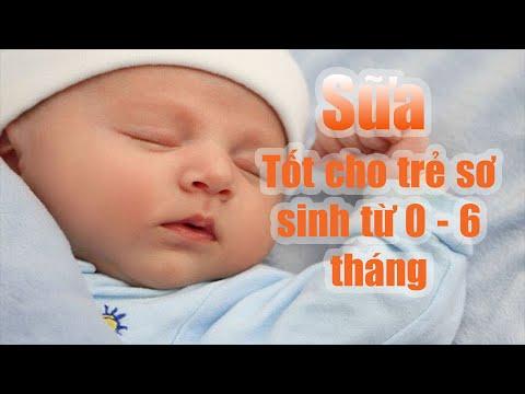 Sữa bột dành cho trẻ sơ sinh từ 0  - 6 tháng năm 2019