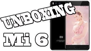 Unboxing Mi 6 e primeiras impressões - Xiaomi Mi 6 lançamento!