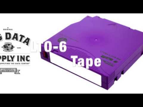 LTO-6 Ultrium Tape Media Buyback - Sell Data Tape - Recycle Data Tape