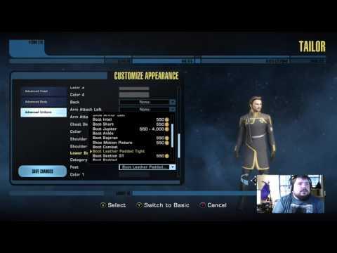 Star Trek Online(Xbox One) Tailor: How to change your Uniform