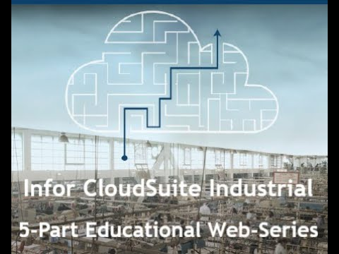 CSI Web-Series: Part 3 'Factory Track, Automation from Plant Floor to Warehouse'