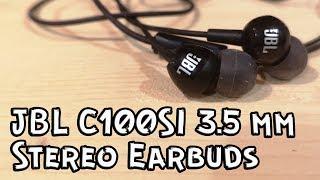 jBL C100SI 3.5mm Earphone Earbuds II Качественная экономия !