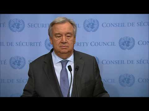 Inner City Press Asked SG Guterres Cameroon Q. UN Said He Hadn't Heard It, Threatened to Review ICP