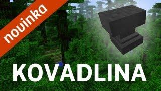 Novinka: Opravování nástrojů, kovadlina (Anvil blok) | Minecraft snapshot 12w41a