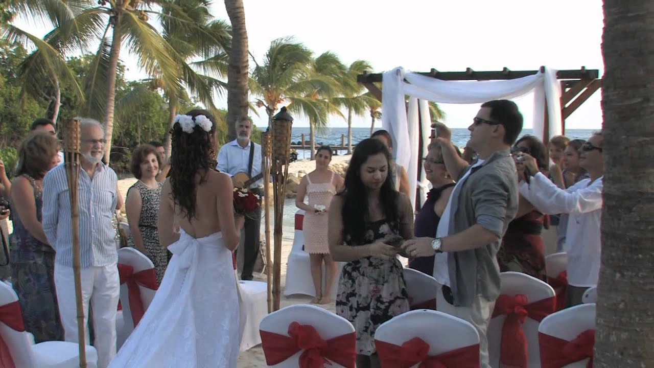 Gisela & Alexandre Wedding Compilation on The Renaissance Island Aruba