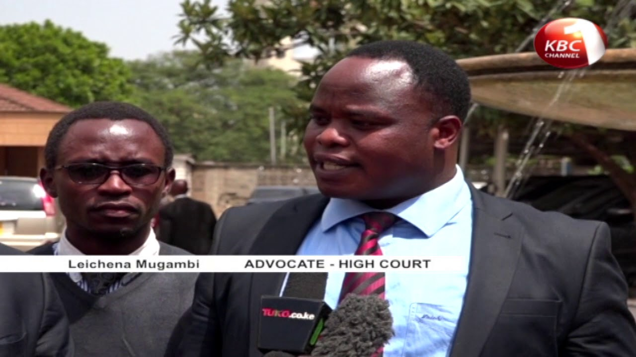 Dr. Alfred Mutua's petition takes a new twist