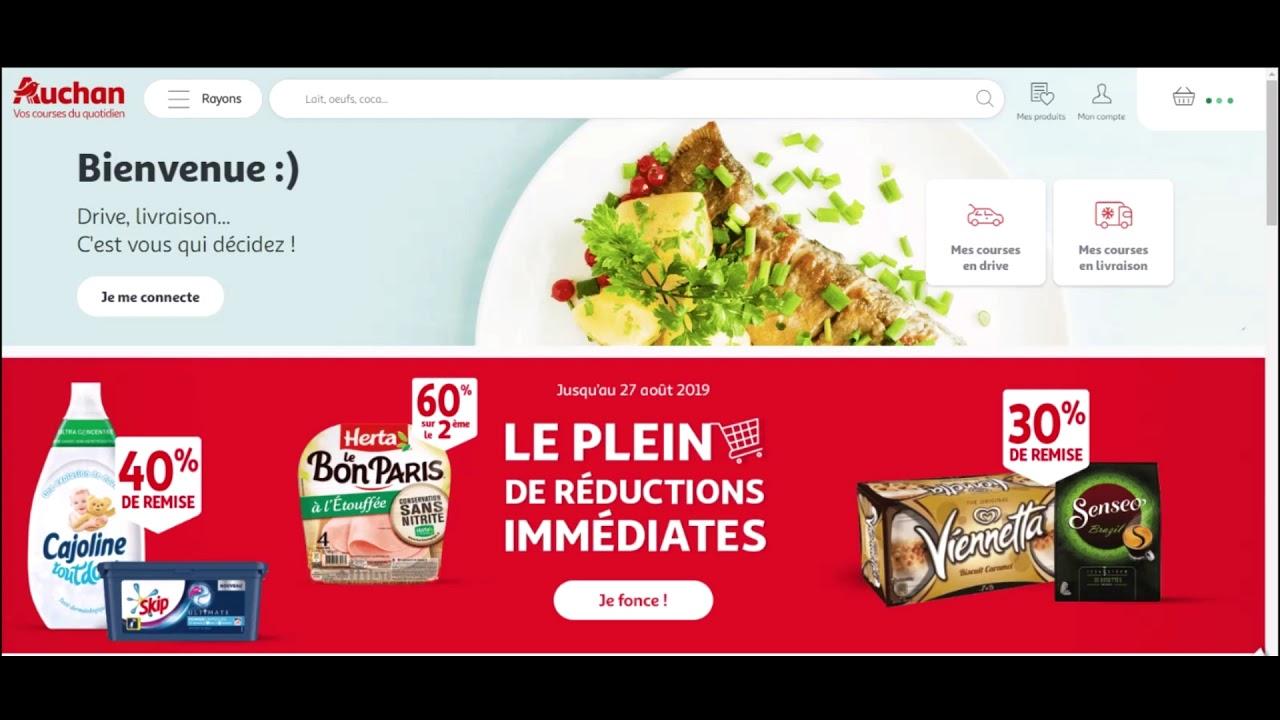Code reduction Auchan Direct ⇒ bon plan et frais de port