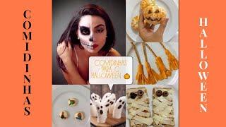 Comidinhas para o Halloween