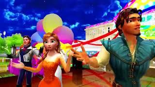 Lagu selamat ulang tahun Frozen ,Anna Elsa sing Happy Birthday Greetings