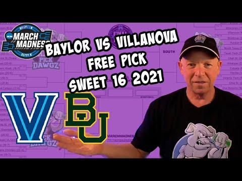 Baylor vs Villanova 3/27/21 Free College Basketball Pick and Prediction NCAA Tournament