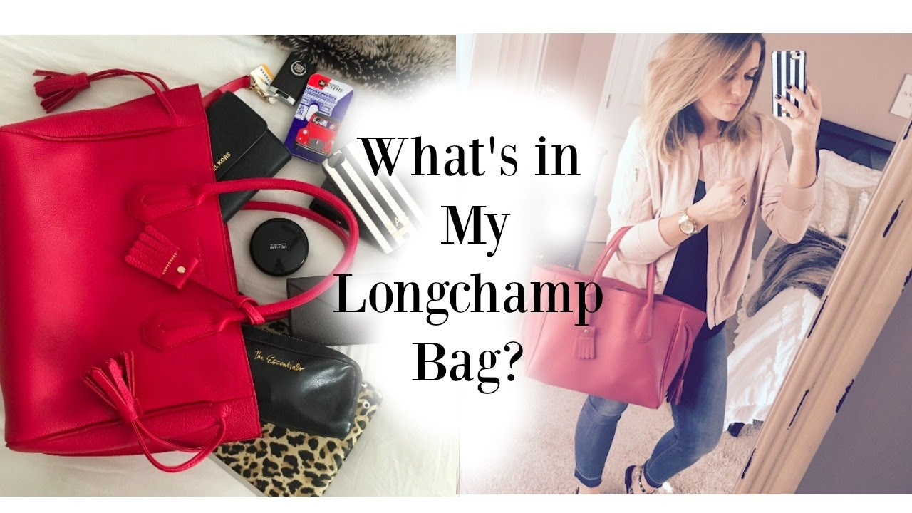 ad4c6659c667 What s in my bag  Longchamp Tote - YouTube