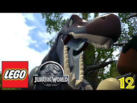 "LEGO JURASSIC WORLD Gameplay Walkthrough Part 12 - ""Jurassic Park III Begins!!!"" (1080p HD PC)"