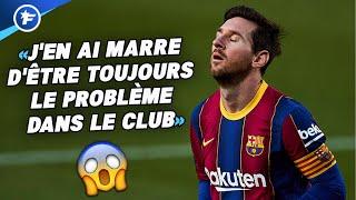 La nouvelle sortie de Lionel Messi fait trembler le FC Barcelone | Revue de presse