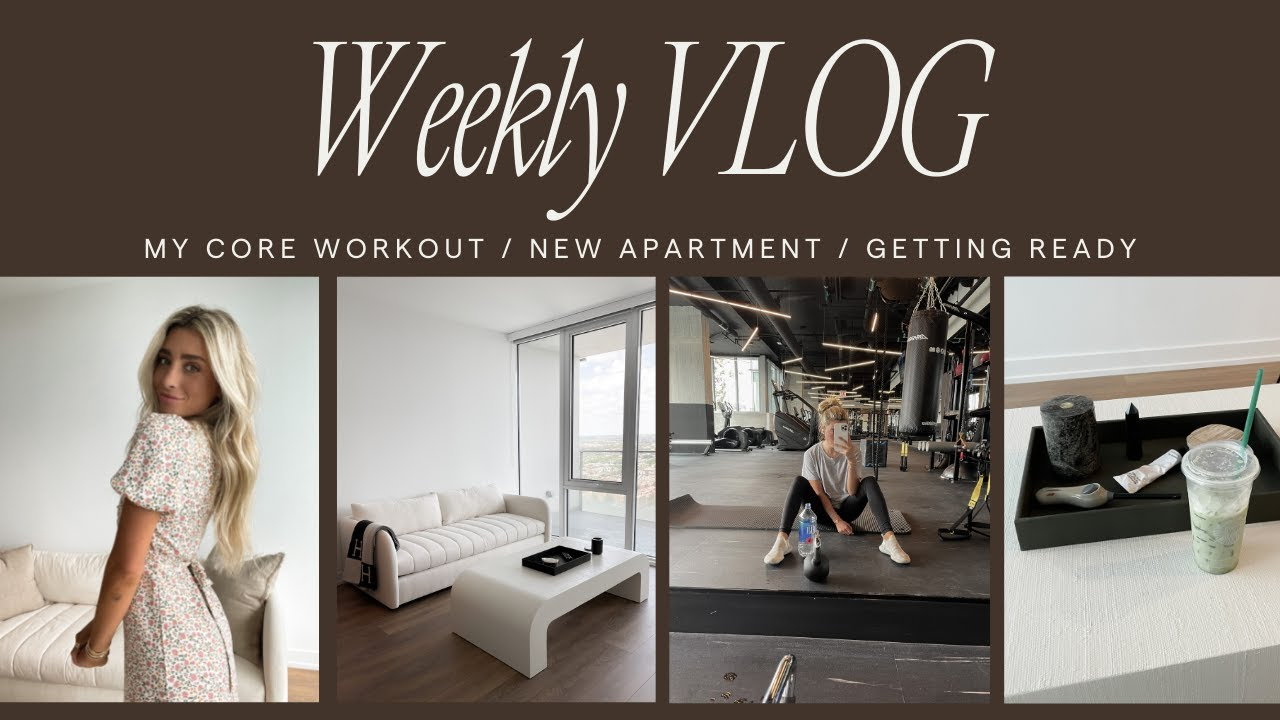 My New Apartment! Core Workout + Get Ready for Bridal Shower!
