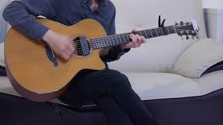 小潘潘、小峰峰 - 學貓叫 (acoustic guitar solo)