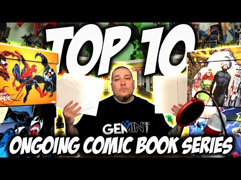 TOP 10 Ongoing COMIC BOOK Series RIGHT NOW!