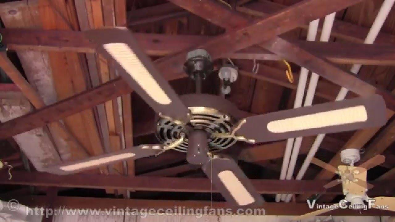 Evergo Ceiling Fan Model 4p 8clw June 1983