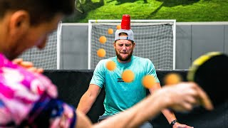 Unmögliche Ping-Pong-Trick-Aufnahmen