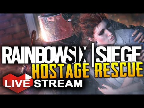 Rainbow Six Siege: Hostage Rescue | Realistic Multiplayer Gameplay | LIVE Stream (Part 16)