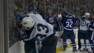 Gotta See It: Byfuglien and Martin scrap after Laine scores his 30th