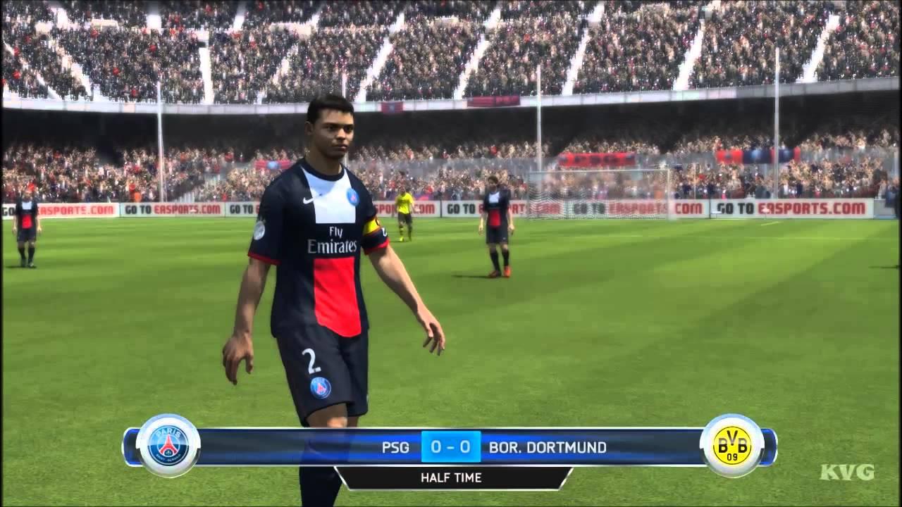 Fifa 14 Psg Vs Borussia Dortmund Gameplay Hd Youtube