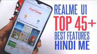 Realme U1 Tips and Tricks | Top 45+ Best and Hidden Features of Realme U1 in |Hindi|