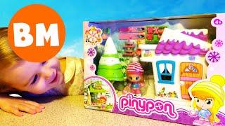 Пинипон Зимний домик Куклы для девочек | Pinypon dolls