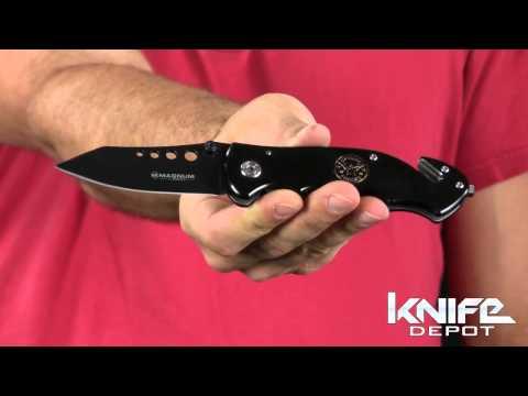 Magnum By Boker US Navy Seals Tactical Pocket Knife
