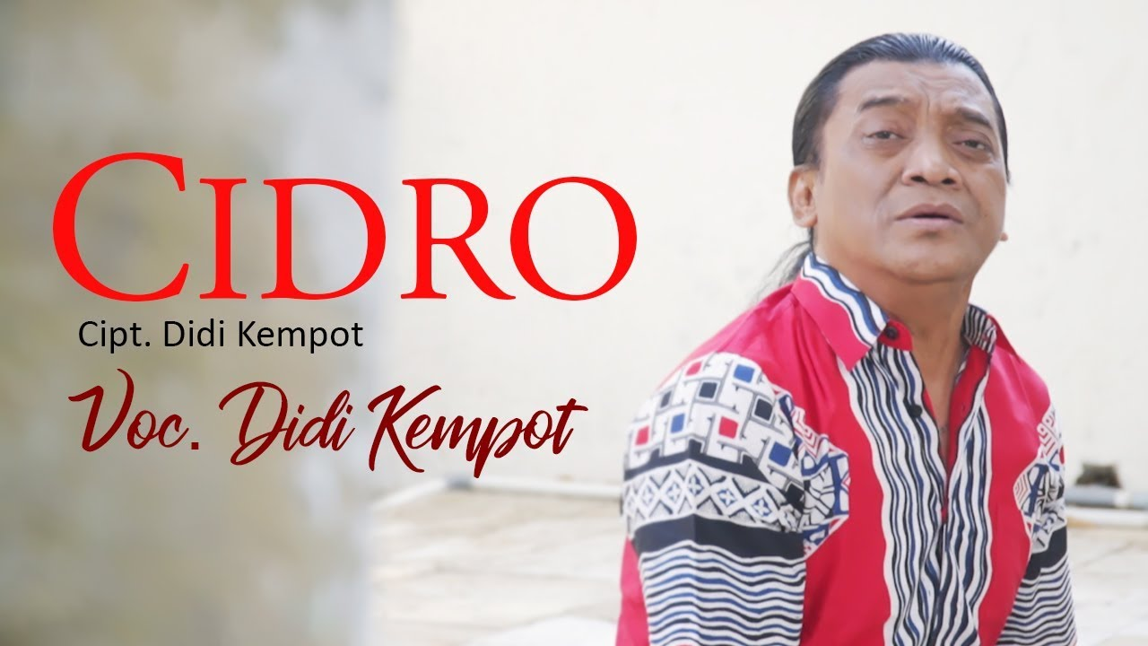 Didi Kempot Cidro Official Youtube