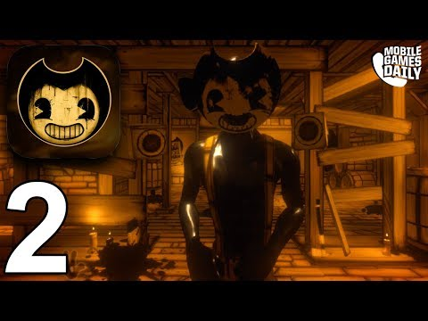 BENDY AND THE INK MACHINE Mobile - Chapter 2 - Gameplay Walkthrough Part 2 (iOS Android)