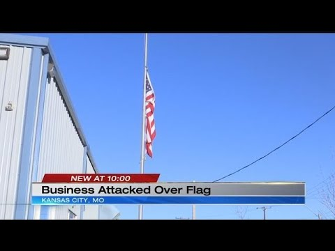 Employee: Kansas City Business Attacked For Flying American Flag