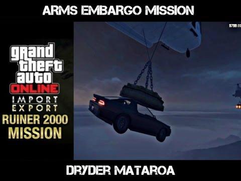Grandtheft Auto V Import & Export Missions (Arms Embargo)