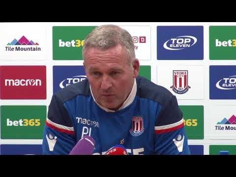 Lambert urges Stoke to bounce straight back after 'disastrous' relegation