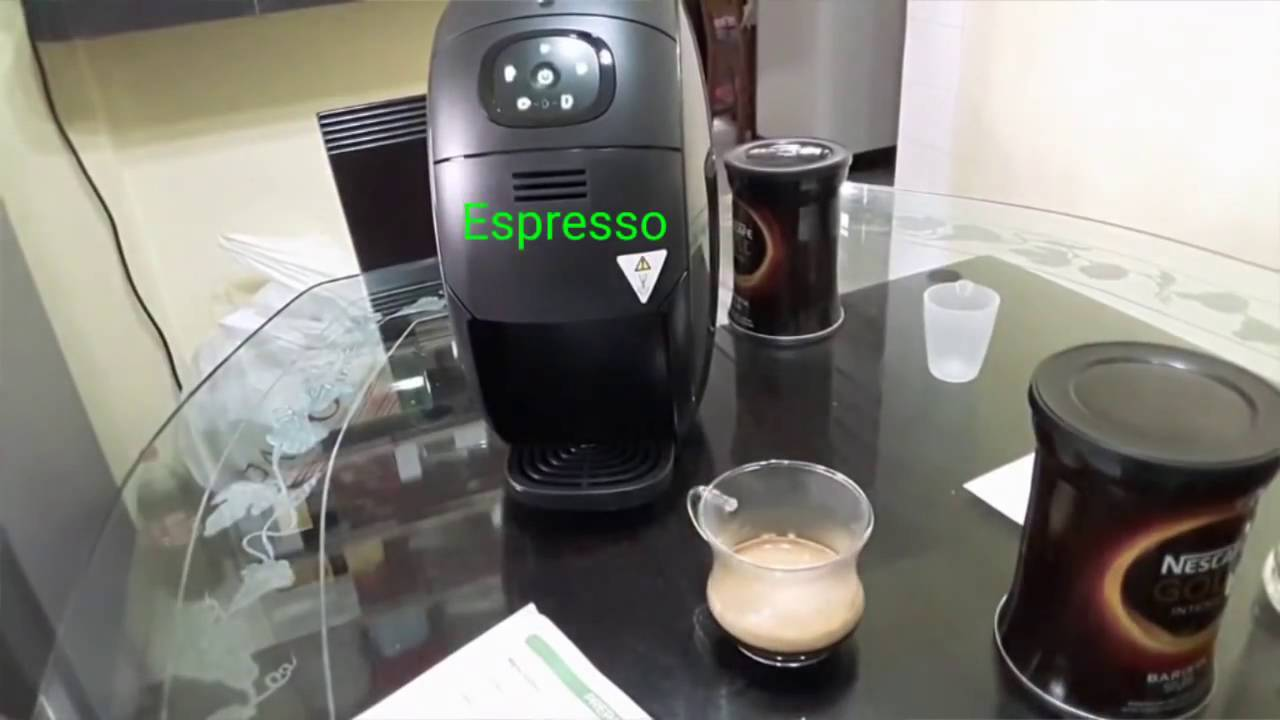 014 unboxing set up of nescafe gold barista coffee at home youtube