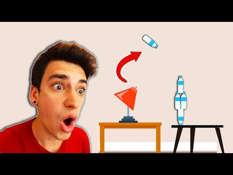 INSANE BOTTLE FLIP VIDEO GAME!